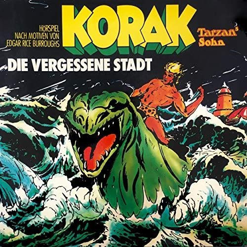 Korak - Tarzans Sohn: Die vergessene Stadt cover art