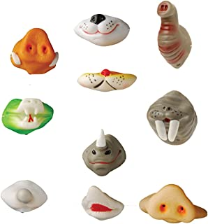 Assorted Animal Noses - 24-Pack of Animal Series Nose Masks