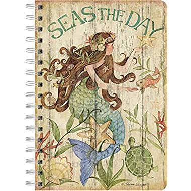 LANG - Spiral Journal -  Seas The Day , Artwork by Susan Winget - 240 ruled page, 6  x 8.25