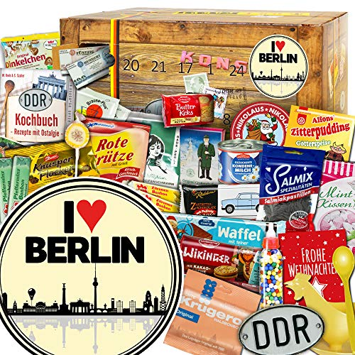 I love Berlin / Ost Adventskalender / Adventskalender 2019 Erwachsene
