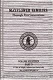 Mayflower Families Through Five Generations (Vol. 18, Pt. 3 Richard Warren) Fifth Generation Descendants of Abigail 2, Nathaniel 2, and Joseph 2