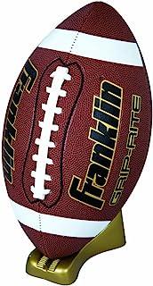 Franklin Sports Grip-Rite Gold Pump and Tee Football Set