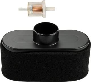 Harbot 11013-7047 Air Filter with 11013-7046 Pre-Cleaner Fuel Filter for John Deere MIU12555 Bobcat 4164631 Kawasaki FR651V FR691V FR730V FS481V FS541V FS600V FS651V FS691V FS730V 4-Cycle Engine