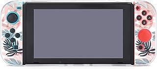 Leaf 本体5点セットSwitchゲーム機保護ケース スイッチ カバー 分体式 ケース 全面保護 着脱簡単 指紋防止 気泡ゼロ 高感度