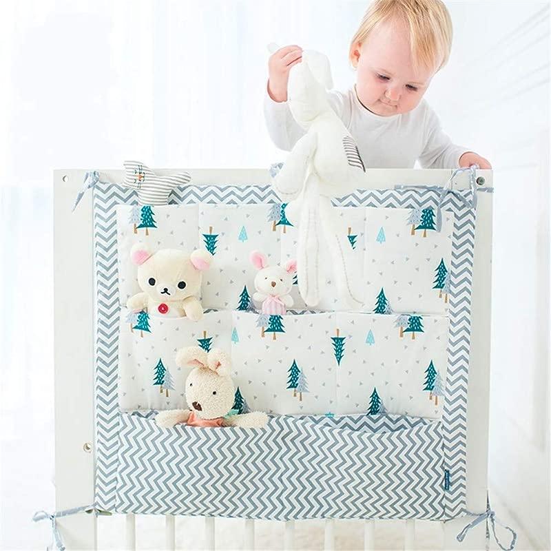 FannyShop Baby Bed Organizer Nursery Diaper Caddy Toddler Playard Organizer Hanging Universal Playard Hanging Organizer For Socks Hats Mittens Nursing Pads GreenTree