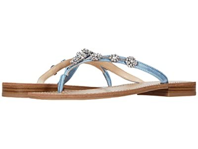 Nine West Neil Lane Perfect (Light Blue Satin) Women