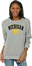 Flying Colors Women's Michigan Wolverines Game Day Sweatshirt Relaxed Fit