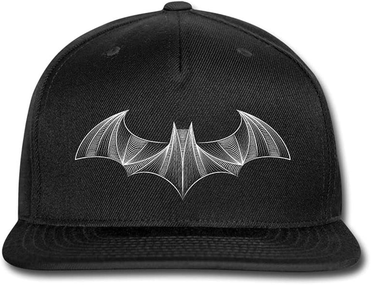Spreadshirt Batman Logo Drawing Snapback Cap