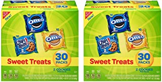 Nabisco Cookies Sweet Treats Variety Pack Cookies - with Oreo, Chips Ahoy, & Golden Oreo, Set of 2