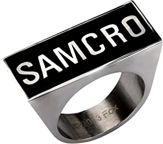 Animewild Sons of Anarchy Samcro Logo Ring