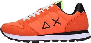 SUN68 Z31101 61 Verde Fluo Sneakers Uomo