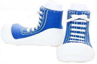 Attipas Sneaker Baby Walker Shoes, Blue, Medium