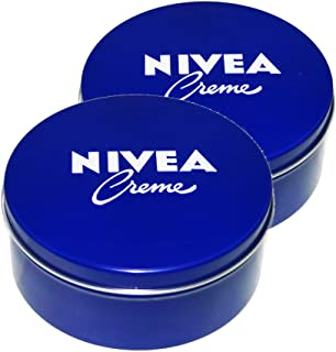 Nivea German Cream in Metal Tin, 250 ml - Pack of 2