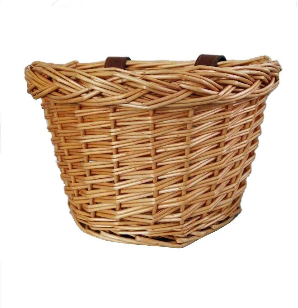 Financial sales sale Bike Baskets for Women Wicker Water Rattan Handmade Industry No. 1