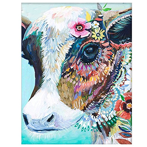 Customised DIY Colourful Paint By Numbers Kit Acrylic Oil Painting On Canvas