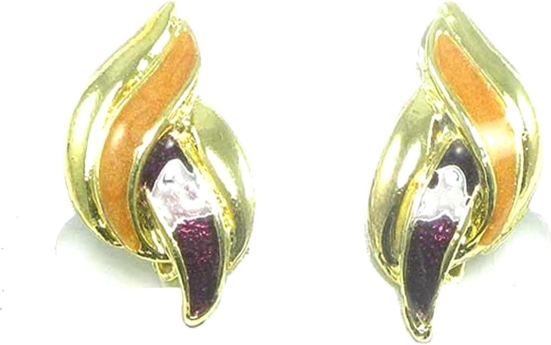 Enameled Fashion Clip-on Earring / AZERCO478-GMU