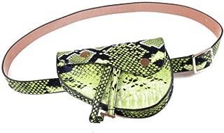 Fashion Handbags Bags Snake Pattern Pockets Mini Mobile Phone Pocket Saddle Bags ZC671