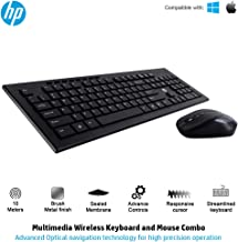 HP Multimedia Slim Wireless Keyboard & Mouse Combo (4SC12PA)