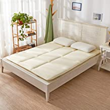 Tatami Mattress, Futon Mattress Cotton Floor Mattress, Foldable Tatami Padded Japanese Futon Bed, Soft Thick Mattress Stud...