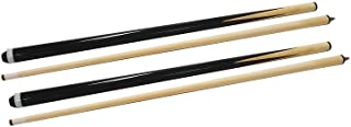 TGA Sports 48 Inch Hardwood Billiard House Cue Sticks 2-Piece Pool Cue