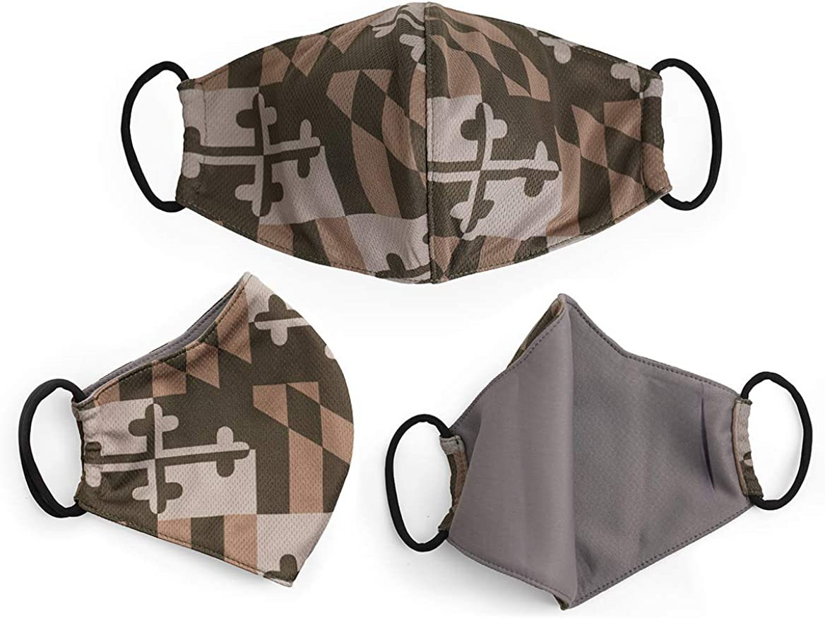 3 Pack MD Flag Reusable Cloth Filter pocket Face with Super popular Bombing free shipping specialty store Covering