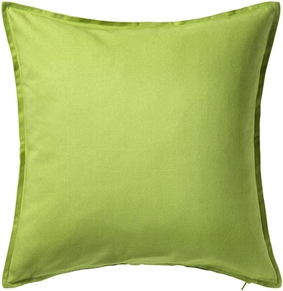 Ikea Gurli Cushion Pillow Cover Cotton Green