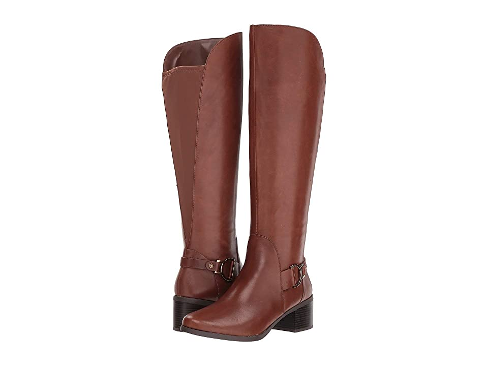 Anne Klein Jamee Riding Boot (Cognac) Women