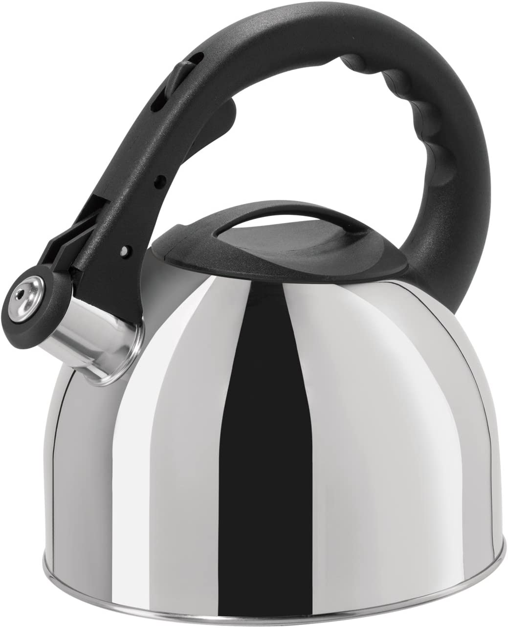 Oggi Whistling Tea Kettle Translated with Cool Trigger Free shipping anywhere in the nation Nylon Stay Handle