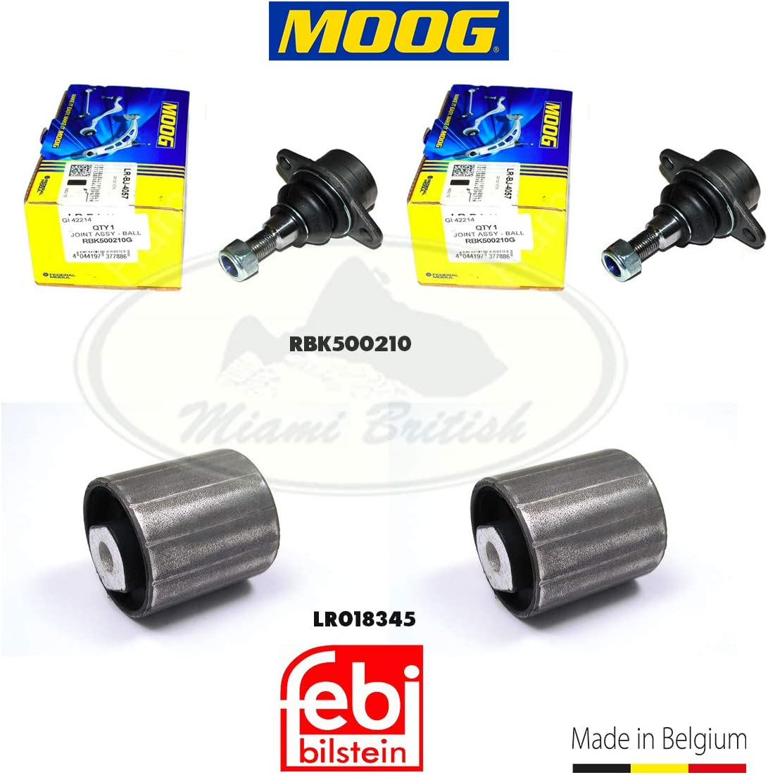 Super Max 57% OFF special price UPPER SUSPENSION ARM FRONT BUSH + JOINT BALL SET RANGE x4 03-12