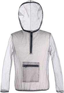 Bug Jacket Hood & Pants - Mosquito Repellent Net Clothing for Men & Women - Insect-Proof Netting Suit for Outdoor Protection from Bugs, Flies, Gnats, No-See-Ums & Midges.