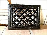 Antikas - reja de ventilación chimeneas estilo antiguo - cercas de aire - reja de hierro fundido...