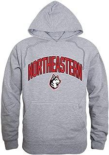 W Republic Apparel Northeastern University Huskies Campus Hoodie Sweatshirt Heather Grey