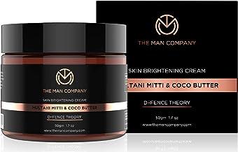 The Man Company Skin Brightening Cream Multani Mitti And Coco Butter, 50 Gm | Made in India