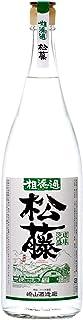 泡盛 松藤 粗濾過 44度 1800ml 一升瓶 糖質ゼロ 低カロリー