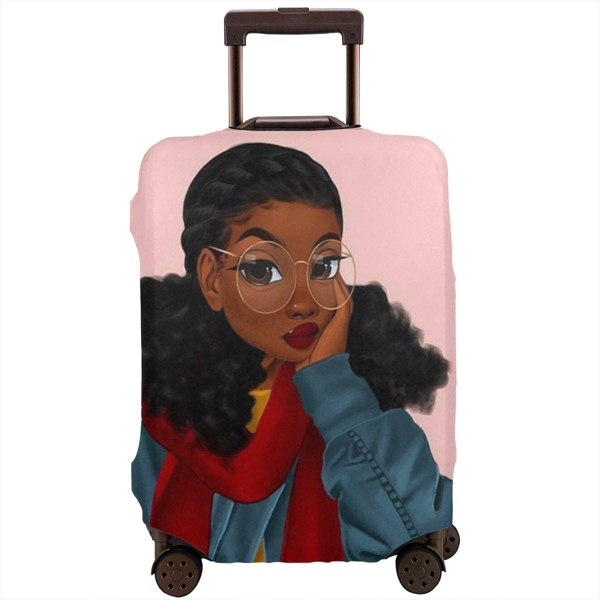 Minneapolis Mall SARA NELL Travel Luggage Cover Art Women African American Black Quality inspection