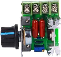 Regulador de Voltaje de presión de termostatos de atenuación Controlador de Velocidad - SCR bidireccional Controladores de Velocidad de Ventilador de Estufa eléctrica de Motor pequeño - 110V-250V AC