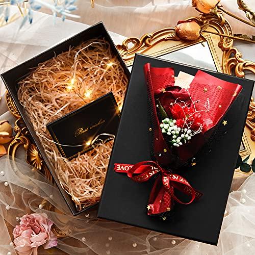 Rongxin Caja de embalaje sorpresa para enviar amigas, caja sorpresa festival, caja vacía grande de cumpleaños sorpresa macho (color: 8, tamaño: 21 x 15 x 9 cm)