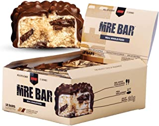 Redcon1 MRE Bar - Meal Replacement Protein Bar (1 Box / 12 Bars), Real Whole Food Sourced Protein, Real Food Taste, 20G Protein (Chocolate Chip Cookie Dough)