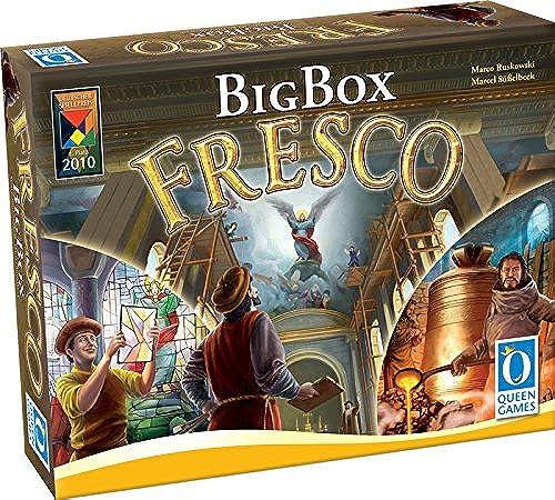 Queen Games - Fresco Big Box Board Game - English Edition