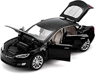 Model S Toy CCar Alloy Model Cars Pull Back Toy Cars for 3 + Years Old (Black)
