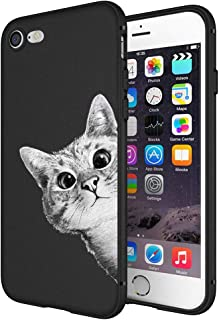 Litech™ Case for Apple iPhone 7 / iPhone 8 [Flexfit] Premium Scratch-Resistant Cute Creative Artistic Design (Cat 3)