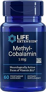 Life Extension Methylcobalamin 1mg, 60 Vegetarian Lozenges