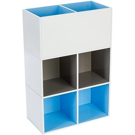 Mueble estantería Cubo para habitación de niños - 6 ...