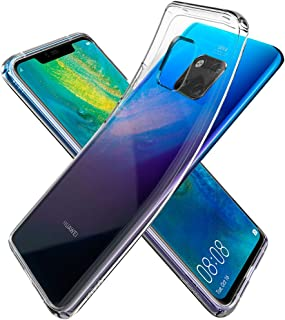 Spigen Liquid Crystal designed for Huawei Mate 20 PRO cover/case - Crystal Clear