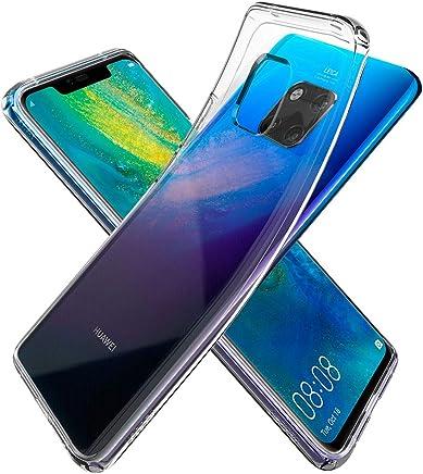 Spigen [Liquid Crystal Cover Huawei Mate 20 PRO, Estremamente Sottile TPU Flessibile Puro Trasparente Custodia per Huawei Mate 20 PRO - Crystal Clear