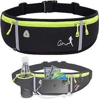 JAPI Running Belt,Water Resistant Runners Belt Fanny Pack for Women Men, Waist Bag for Hiking Fitness Travel - Adjustable ...