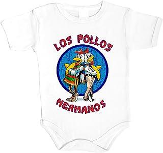 Unbekannt LOS Pollos Hermanos Breaking Bad Heisenberg Baby Body Babykleidung Strampler Unterwäsche Best einzigartig Xmas Gift