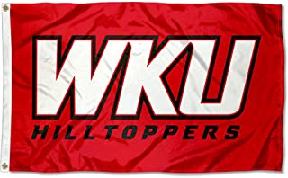 College Flags and Banners Co. Western Kentucky Hilltoppers WKU Logo Flag
