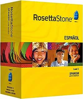 Rosetta Stone Version 3: Spanish (Latin America) Level 1 with Audio Companion