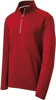 DRIEQUIP Moisture Wicking Textured 1/4-Zip Pullover Sweatshirt